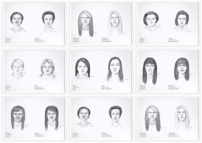 Desenhos feitos pelo retratista forense do FBI, Gil Zamora, indicaram que as mulheres se achavam menos bonitas do que as outras pessoas as consideravam.