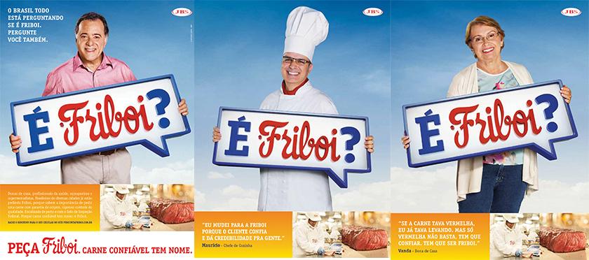 """Mensagem ao consumidor: se você tem dúvida, pergunte... """"É Friboi?"""""""
