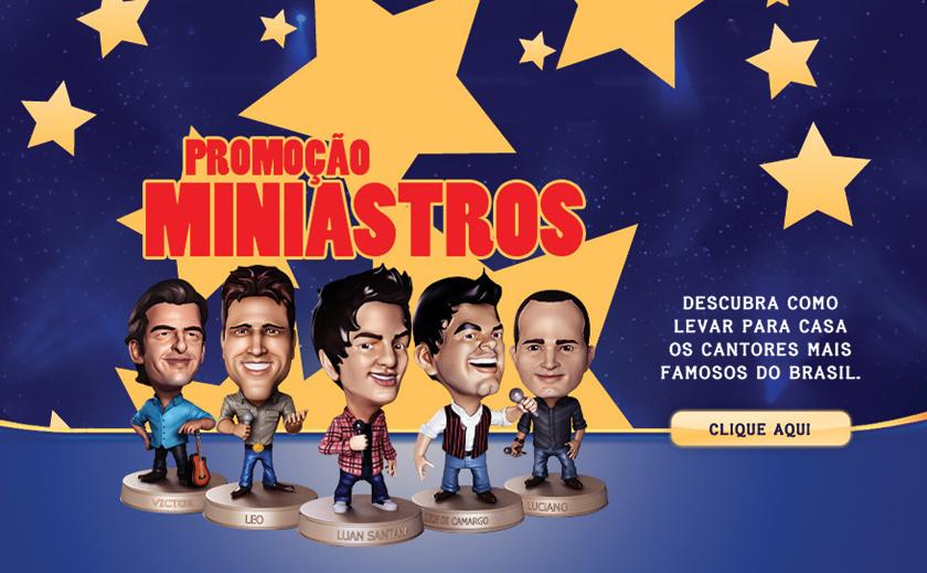 """""""Miniastros Friboi"""", estrelada por Zezé Di Camargo, Luciano, Victor, Léo e Luan Santana"""
