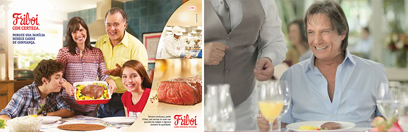 Roberto Carlos como garoto propaganda de Friboi: sequência interrompida, mas awareness em alta