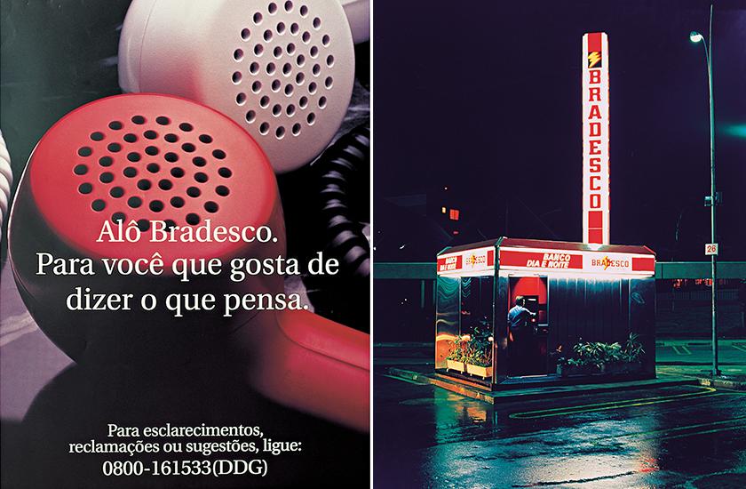 Pioneirismo com o Alô Bradesco, em 1985, e com o Bradesco Dia e Noite, lançado em 1986