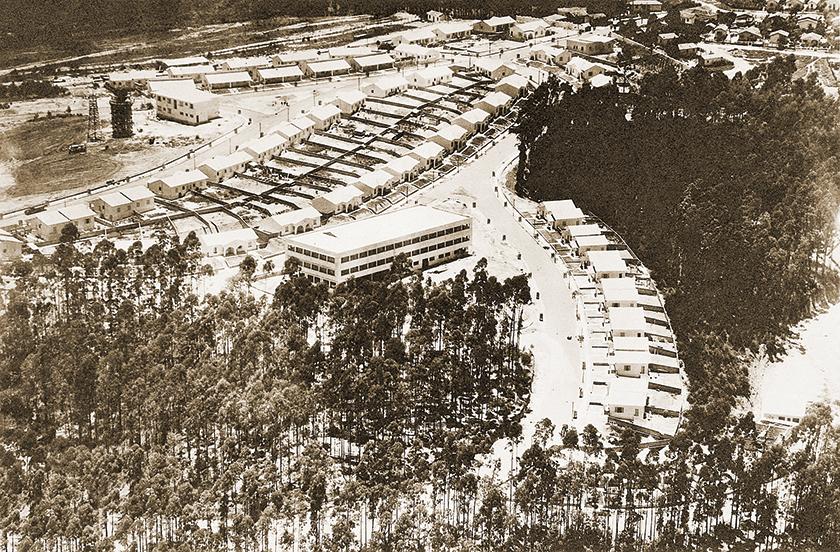Em 1953 foi inaugurada, em Osasco, a Cidade de Deus, para abrigar a sede administrativa do Bradesco