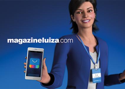 A assistente virtual Lu nasceu em 2005 e acabou na televisão, em comerciais que divulgam os canais e as ferramentas digitais do Magazine Luiza