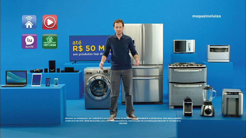 Dando mais ênfase aos produtos de tecnologia, desde o ano passado Tiago Leifert é o embaixador digital da marca