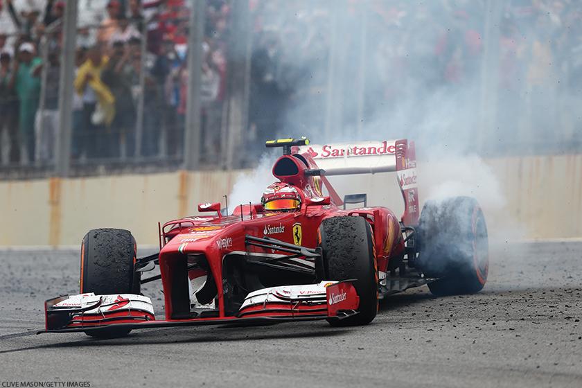 Presença na Fórmula 1 era mote de ações de relacionamento e eventos com funcionários, parceiros e formadores de opinião