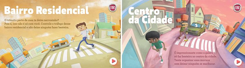 Acima, peça desenvolvida pela Agência Fiat, que integra profissionais da Leo Burnett e Isobar Brasil