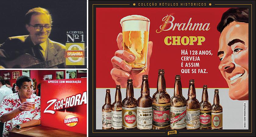 João Gilberto, Zeca Pagodinho e a história contada em rótulos são marcos publicitários da companhia