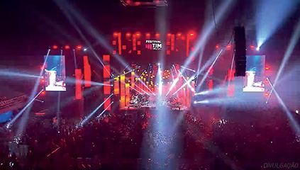A organização de eventos musicais entrou na pauta da operadora em 2003 com a realização do primeiro TIM Festival