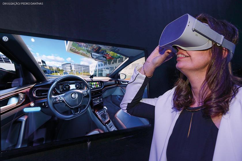 Concessionária digital permite que clientes conheçam toda a linha em realidade aumentada